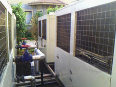 西莱克热泵热水工程