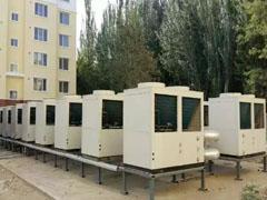 西莱克超低温空气源热泵集中供暖