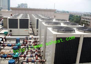 西莱克超低温空气源热泵工程