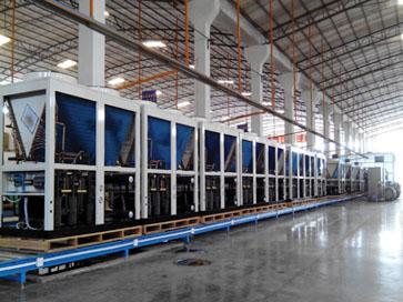 西莱克热泵生产线